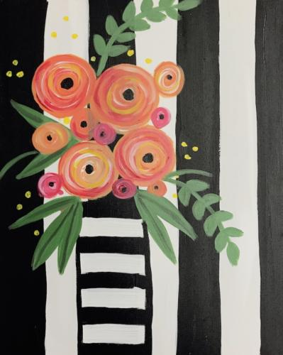 Striped Boquet