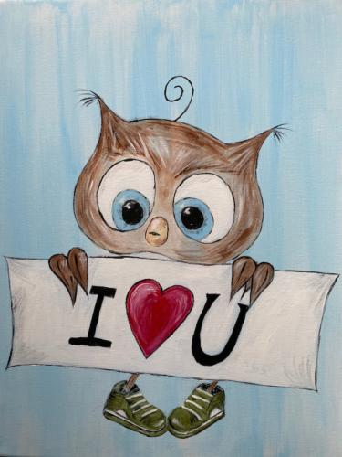 Twit Twoo I Love You